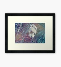 Haunted Lion Framed Print