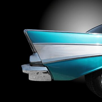 US American classic cars Chevy bel air 1957 by BeateG
