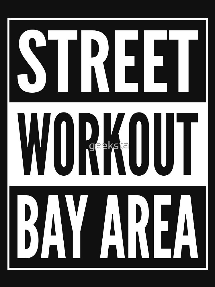 Street Workout Bay Area Urban Fitness Training Design by geeksta