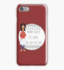 Mommy Doesn't Get Drunk, She Just Has Fun - Linda Belcher iPhone Case/Skin