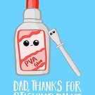 Fathers Day - Dad, Thanks for Sticking by me. PVA by JustTheBeginning-x (Tori)