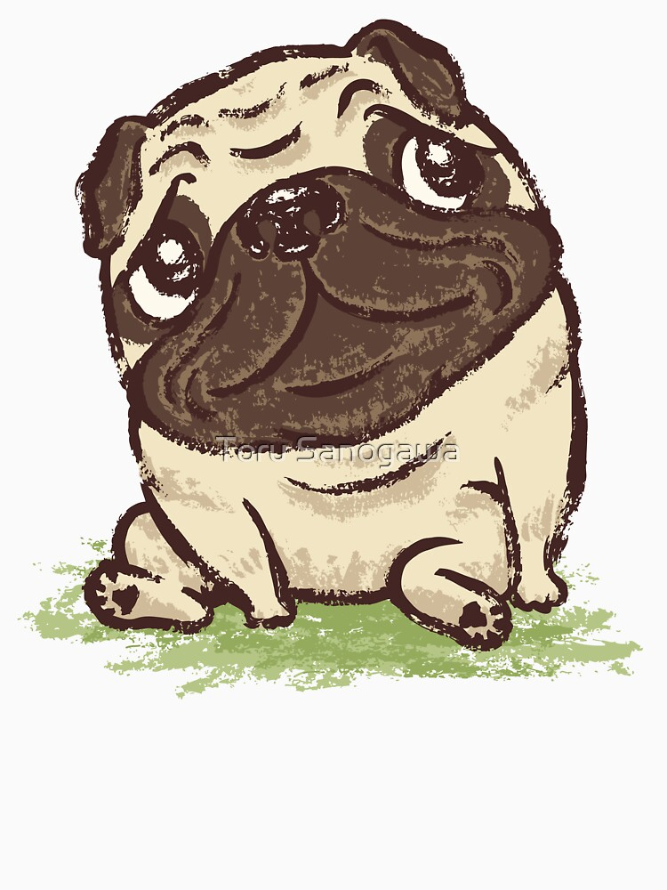 Pug that relaxes | Unisex T-Shirt