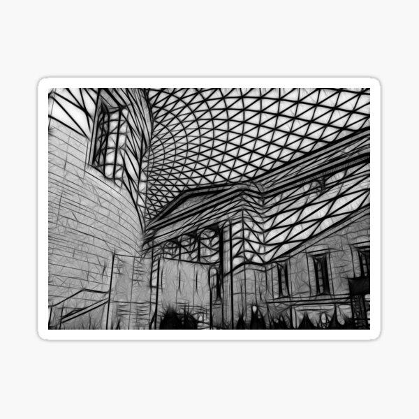 British Museum #1 Sticker