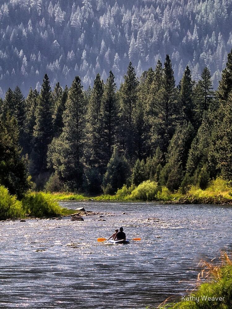 Paddeln Sie den Blackfoot hinunter von kdxweaver