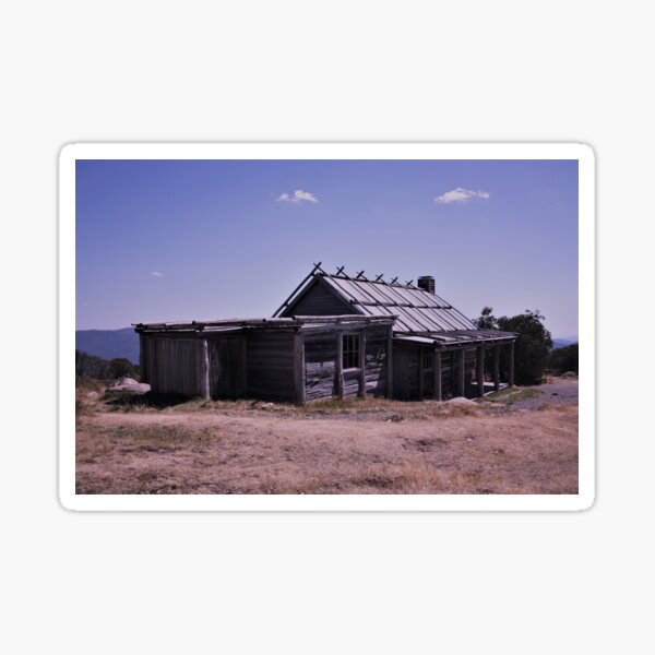 Craig's hut Mt Stirling Sticker