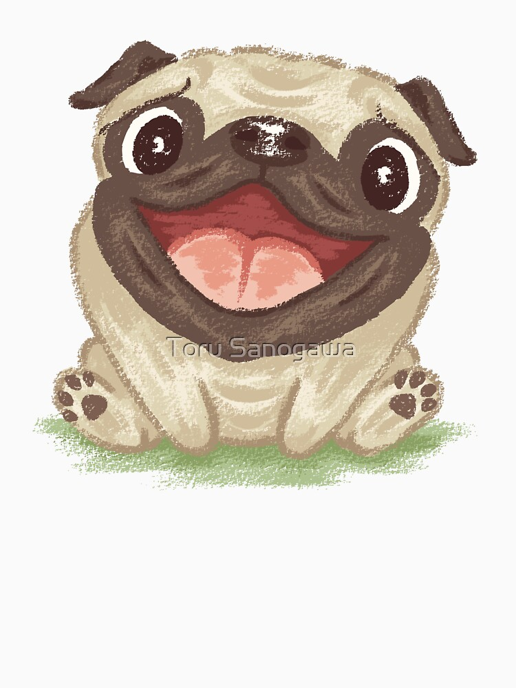 Happy Pug | Unisex T-Shirt