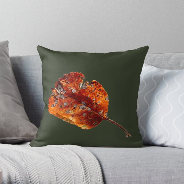 Autumn Leaf 2 Throw Pillow