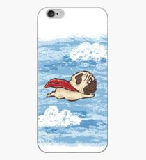Flying Pug iPhone Case