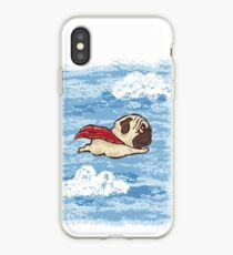 Fliegender Mops iPhone-Hülle & Cover