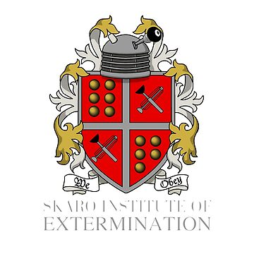 Skaro Institute Of Extermination (Black/Dark Colours) by androzani