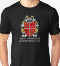 Skaro Institute Of Extermination (Black/Dark Colours) T-Shirt