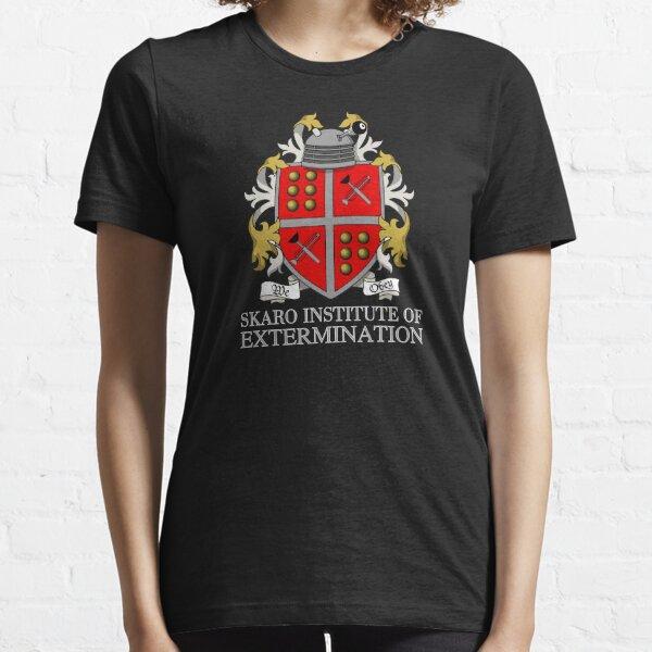 Skaro Institute Of Extermination (Black/Dark Colours) Essential T-Shirt
