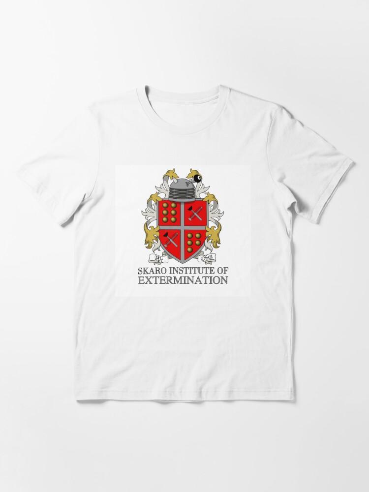 Alternate view of Skaro Institute Of Extermination Essential T-Shirt