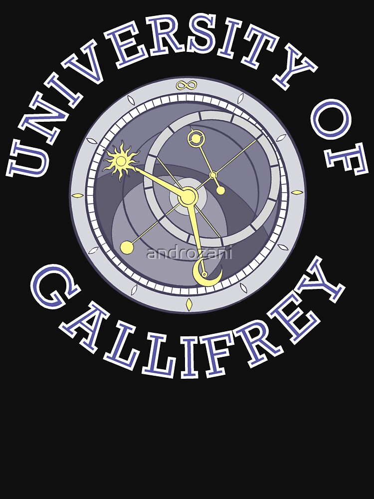 University Of Gallifrey (Black/Dark Colours) by androzani