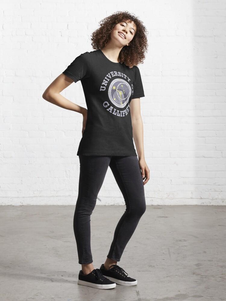 Alternate view of University Of Gallifrey (Black/Dark Colours) Essential T-Shirt