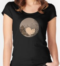 Pluto: With Love from Cthulu Fitted Scoop T-Shirt