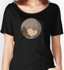 Pluto: With Love from Cthulu Women's Relaxed Fit T-Shirt
