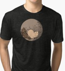 Pluto: With Love from Cthulu Tri-blend T-Shirt