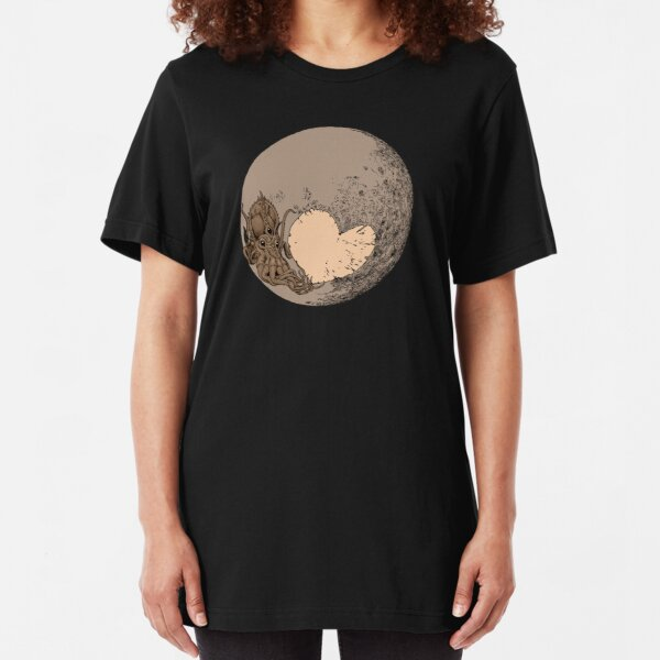 Pluto: With Love from Cthulu Slim Fit T-Shirt