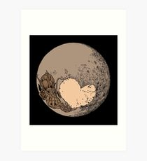 Pluto: With Love from Cthulu Art Print
