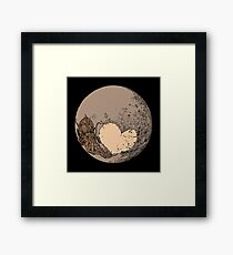 Pluto: With Love from Cthulu Framed Print
