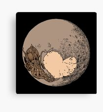 Pluto: With Love from Cthulu Canvas Print