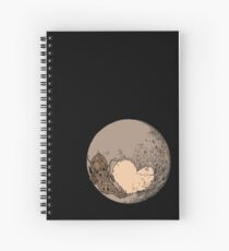 Pluto: With Love from Cthulu Spiral Notebook