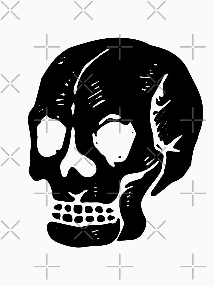 Ein warnender Schädel (schwarz) von TheWhiteBear