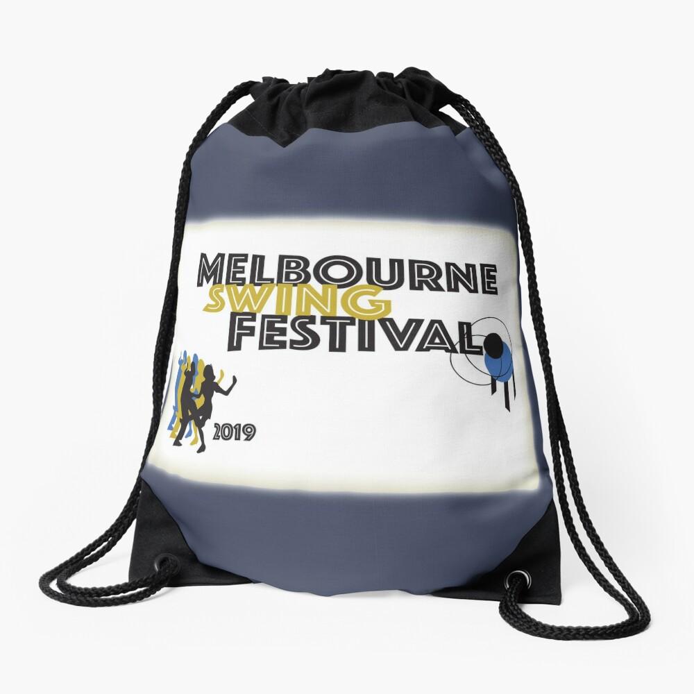 Melbourne Swing Festival 2019 Drawstring Bag