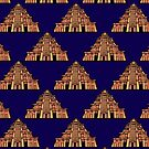 Mexican Temple Pattern by TimorousEclectc