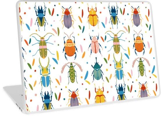 Colourful beetles by NatGonzalez