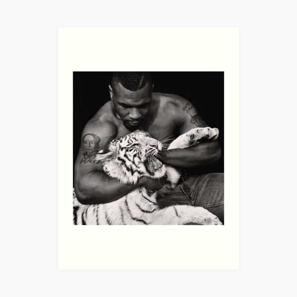 Mike Tyson T shirts Art Print