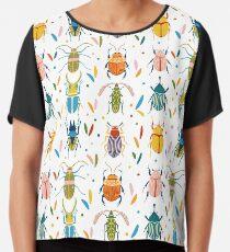 Coléoptères colorés Top mousseline