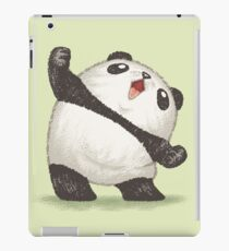 Panda's joy of the victory iPad Case/Skin