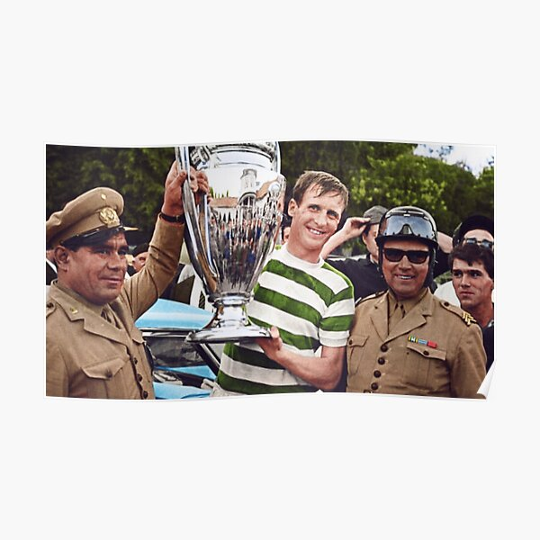 Billy McNeill en couleur Poster