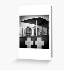Government quarter in Berlin II Greeting Card