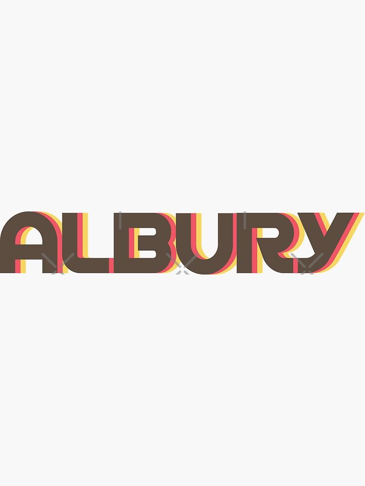Albury Retro by designkitsch