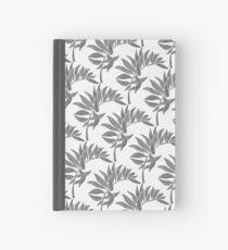 Tropical Leaf - Black Palette Hardcover Journal