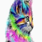Watercolored Cat by Josie31