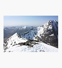 Carn Mor Dearg Arete Photographic Print