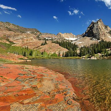 Lake Blanche, Twin Peaks Wilderness Area by photoforyou
