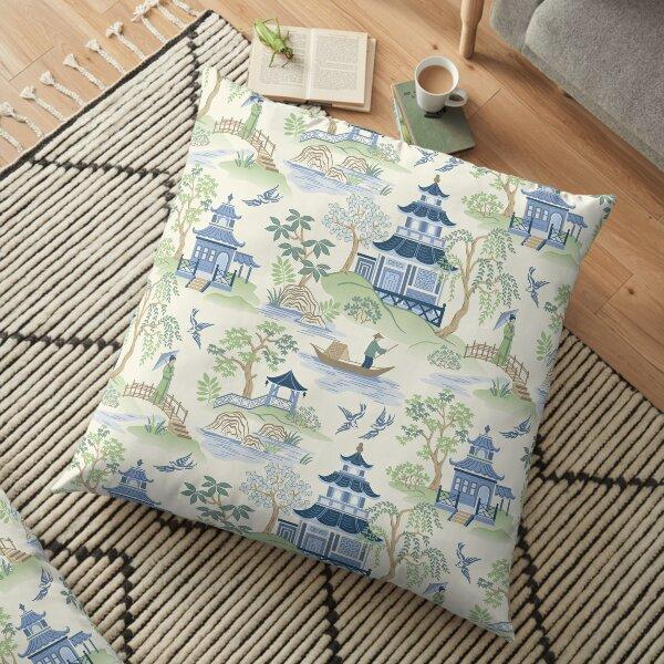 Chinoiserie Floor Pillow