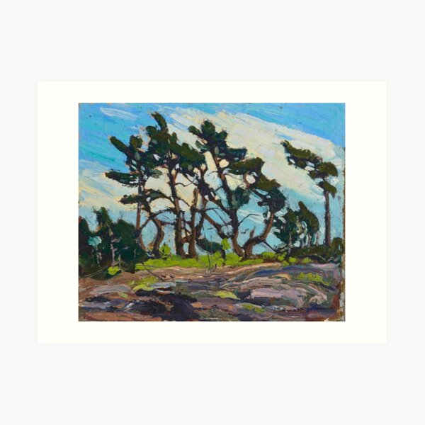 Tom Thomson - Pine Island Art Print