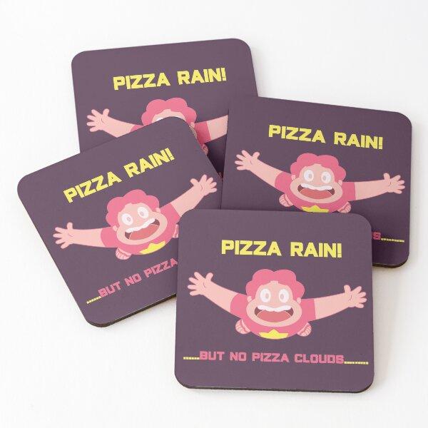 Steven Quartz Universe Pizza Coasters (Set of 4)