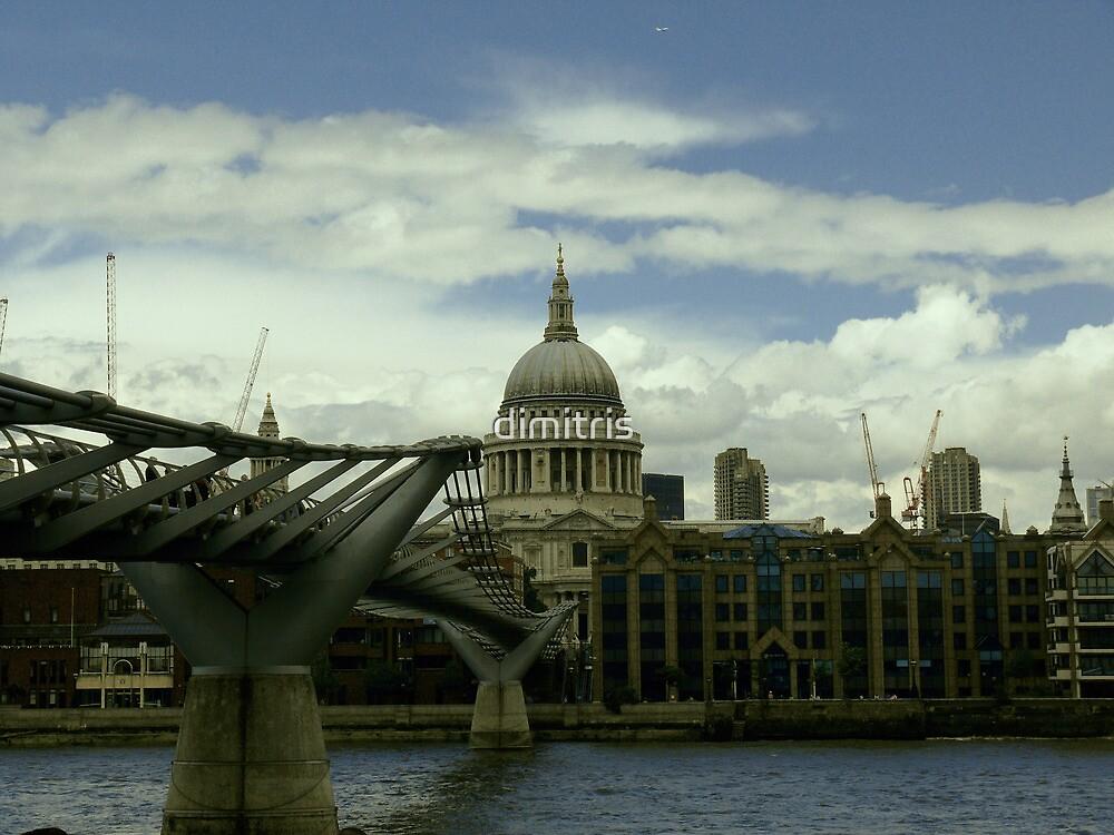 London Millennium Bridge by dimitris