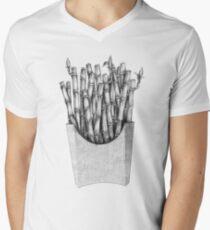 Bamboo Fries V-Neck T-Shirt