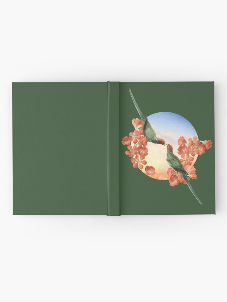 Alternate view of Lover Birds Hardcover Journal