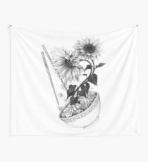 Sunflower Ramen Wall Tapestry