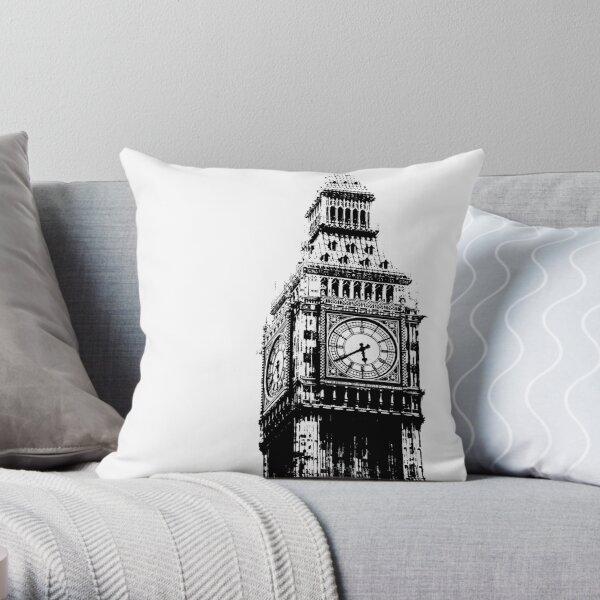 Big Ben - Palace of Westminster, London Throw Pillow
