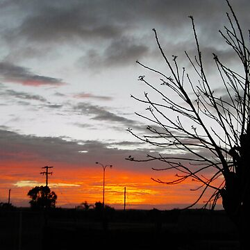 Sunrise..Mt Magnet WA by treborbob